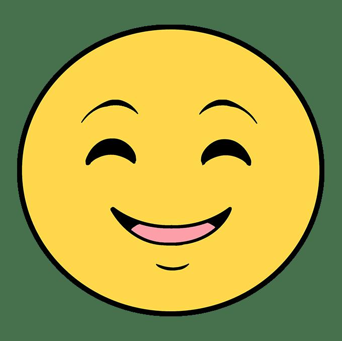 """Cách vẽ biểu tượng cảm xúc hạnh phúc: Bước 6 """"srcset ="""" https://xn--v-nwm.vn/wp-content/uploads/2020/04/1587615824_554_Cach-ve-bieu-tuong-cam-xuc-Bieu-tuong-cam-xuc.png"""