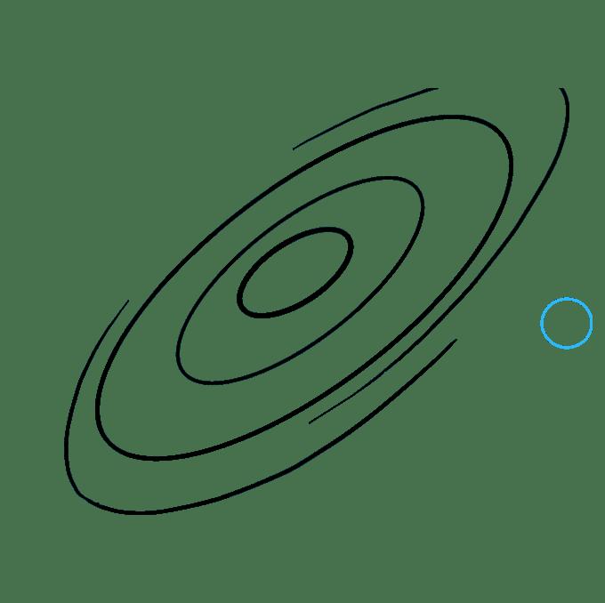 Cách vẽ Galaxy: Bước 5