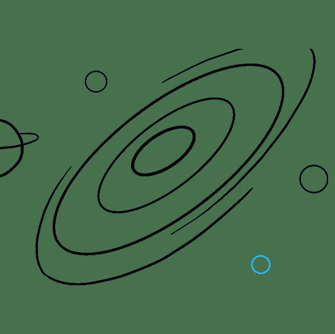 """Cách vẽ thiên hà: Bước 8 """"srcset ="""" https://vẽ.vn/wp-content/uploads/2018/10/Galax-08.png"""