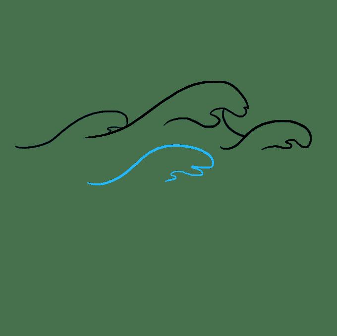 Cách vẽ sóng: Bước 7