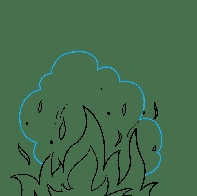 Cách vẽ ngọn lửa và khói: Bước 7