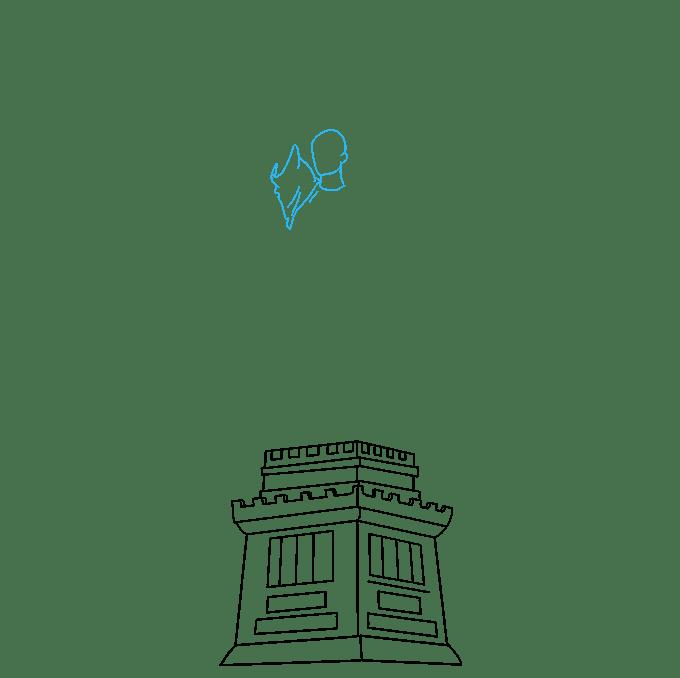 Cách vẽ tượng nữ thần tự do: Bước 4