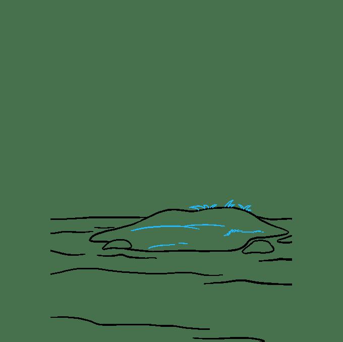 Cách vẽ đảo: Bước 5