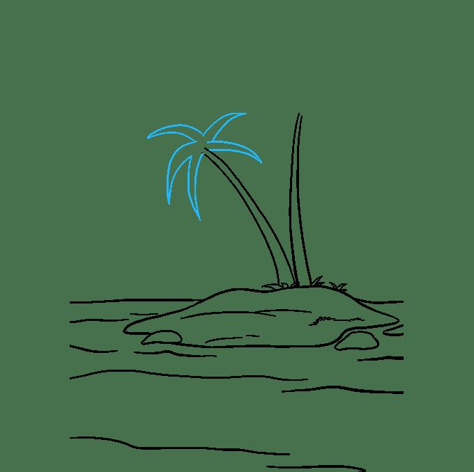 Cách vẽ đảo: Bước 7