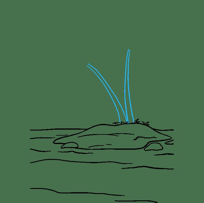 Cách vẽ đảo: Bước 6