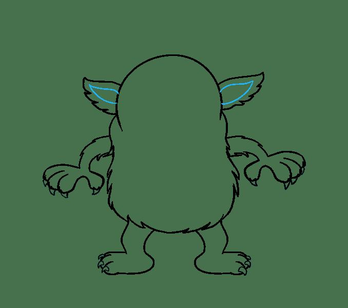 Cách vẽ Quái vật Hoạt hình: Bước 14
