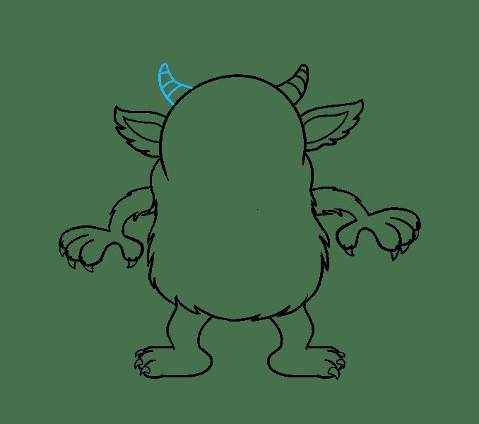 Cách vẽ quái vật hoạt hình: Bước 16