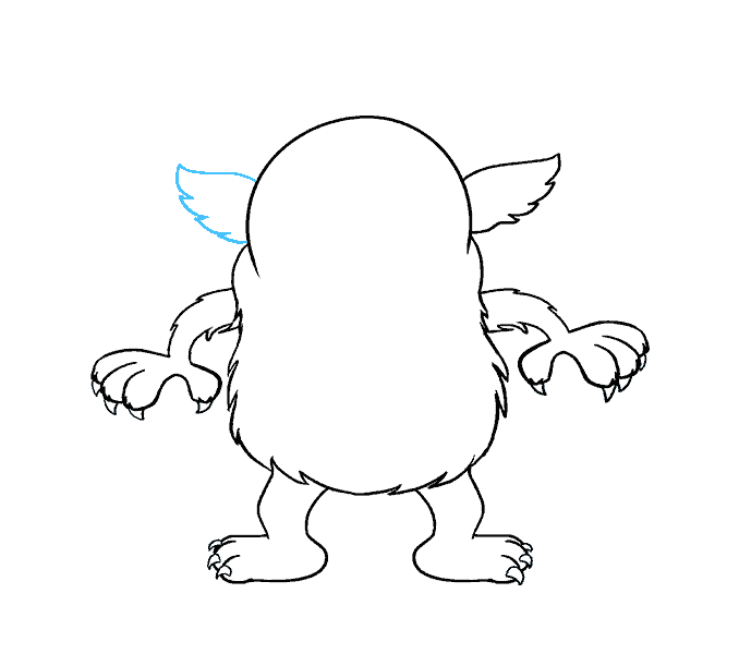 Cách vẽ Monster Monster: Bước 13