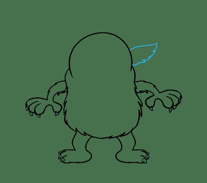 Cách vẽ quái vật hoạt hình: Bước 12