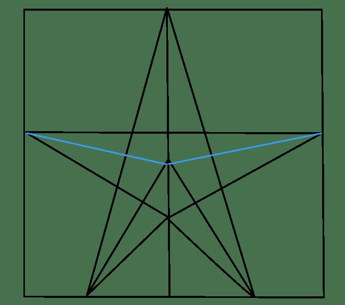 Cách vẽ sao: Bước 6