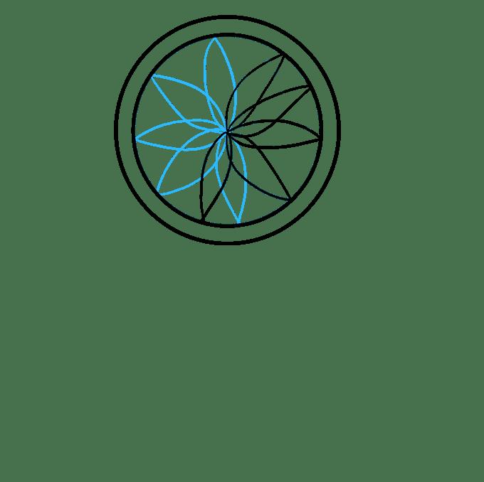 Cách vẽ Người bắt giấc mơ: Bước 3