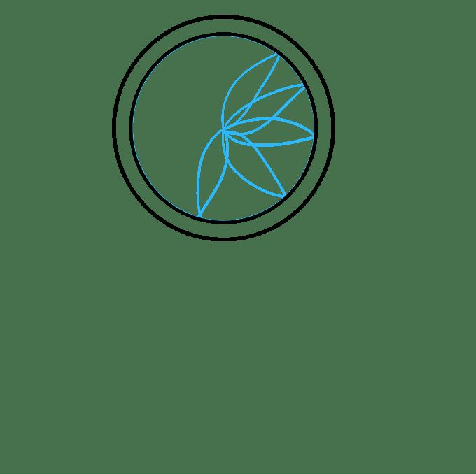Cách vẽ Người bắt giấc mơ: Bước 2