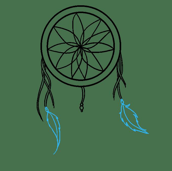 Cách vẽ Người bắt giấc mơ: Bước 5