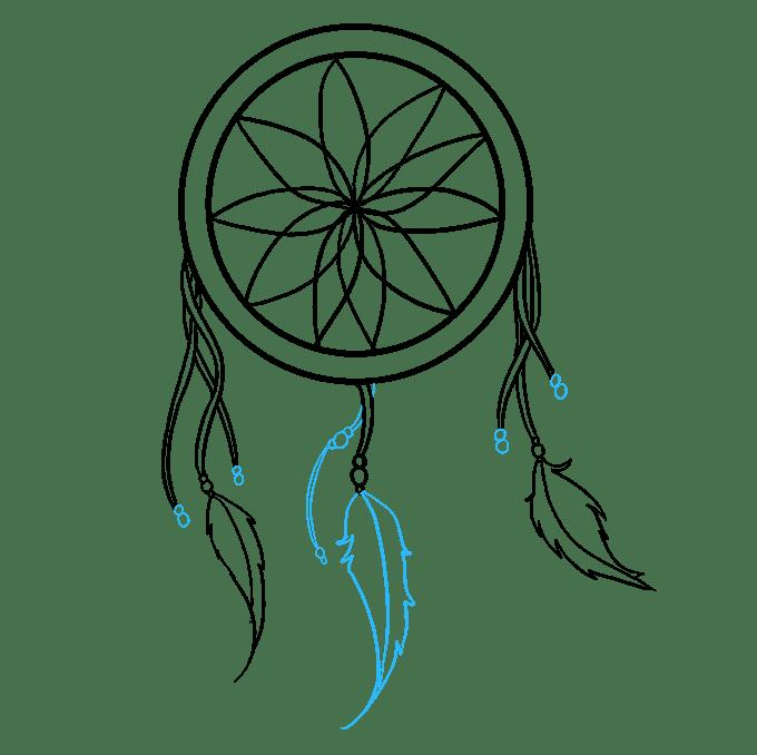 Cách vẽ Người bắt giấc mơ: Bước 6