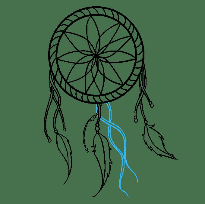 Cách vẽ Người bắt giấc mơ: Bước 8