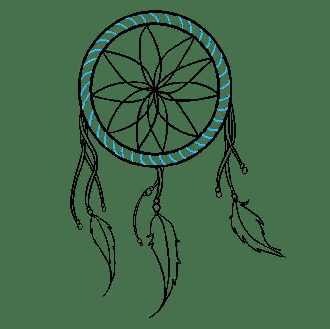 Cách vẽ Người bắt giấc mơ: Bước 7