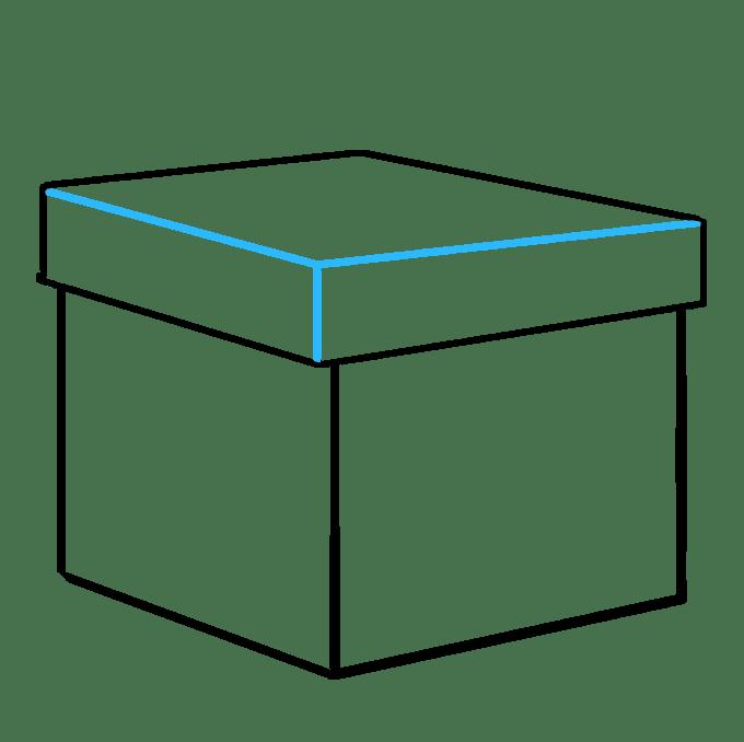 Cách vẽ quà Giáng sinh: Bước 7