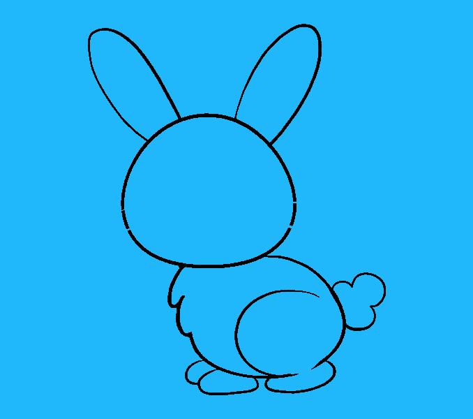 Cách vẽ Bunny: Bước 9