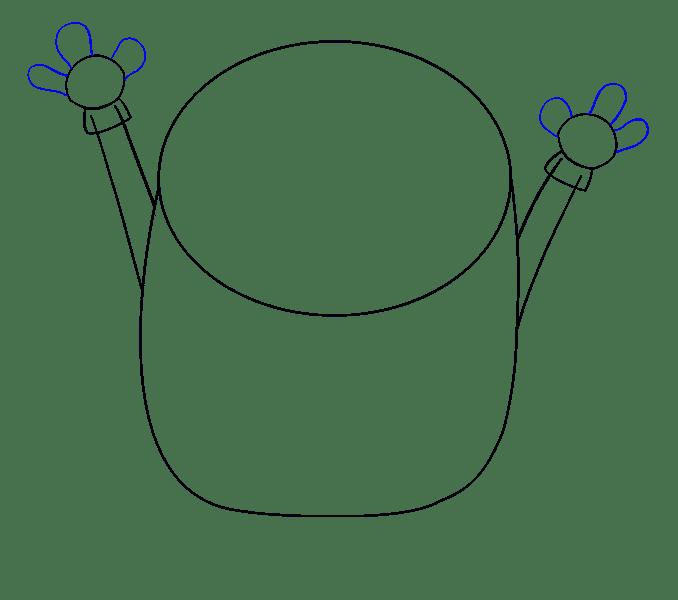 Cách vẽ Bob Minion: Bước 5