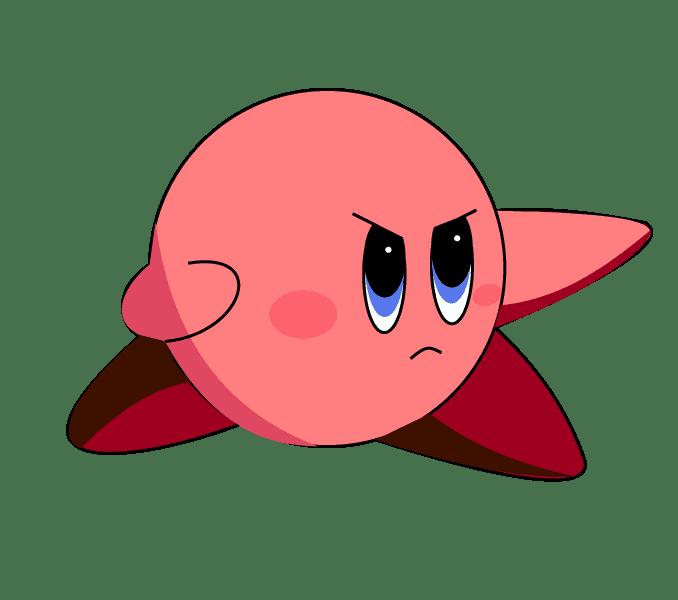 Cách vẽ Kirby: Bước 9