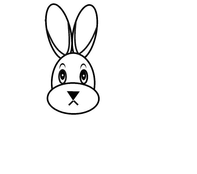 Cách vẽ Bunny: Bước 7