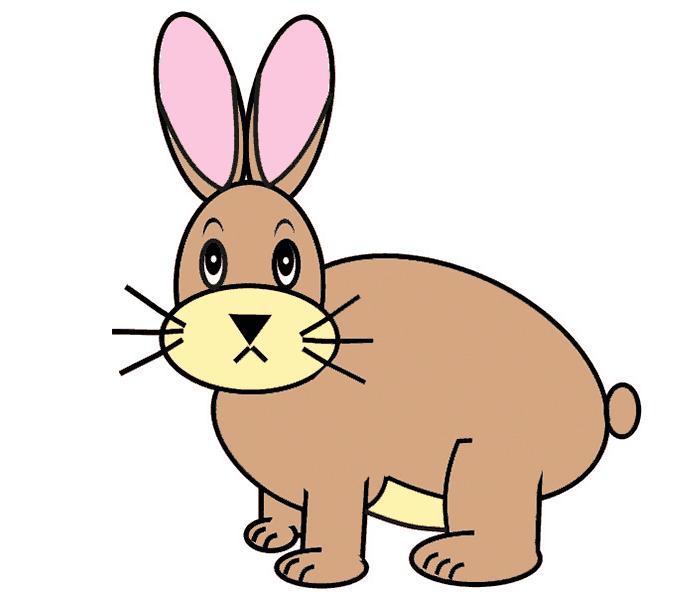 Cách vẽ Bunny: Bước 12