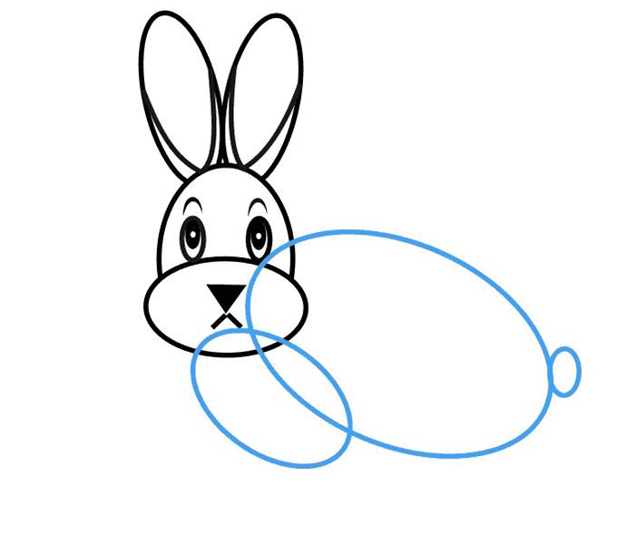 Cách vẽ Bunny: Bước 8