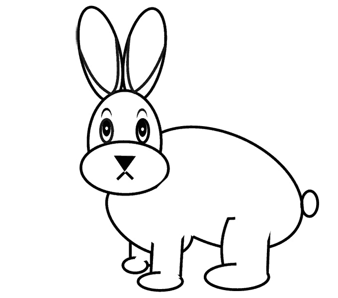 Cách vẽ Bunny: Bước 10