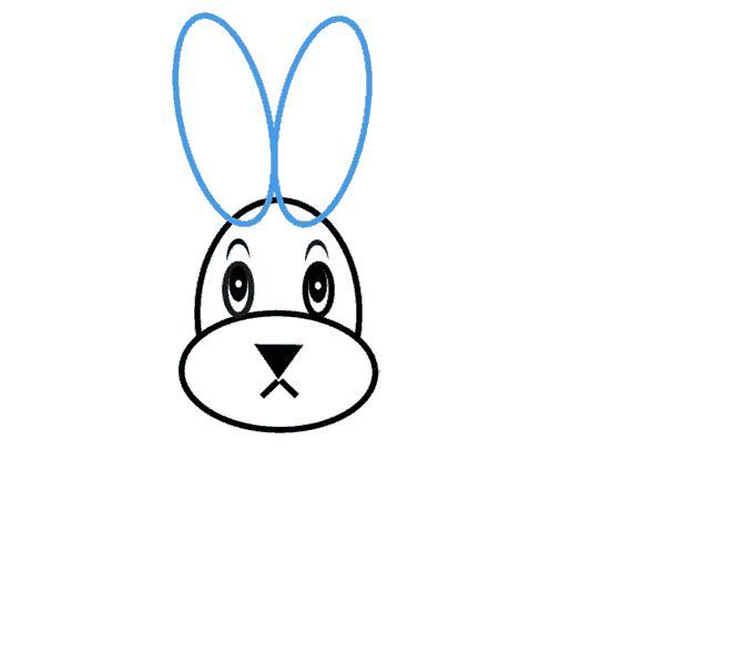 Cách vẽ Bunny: Bước 5