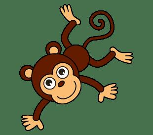 Cách vẽ hoạt hình Khỉ: Bước 11