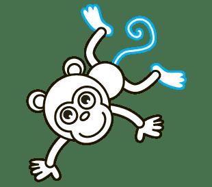 Cách vẽ hoạt hình Khỉ: Bước 10